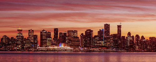 sun nature skyline vancouver buzz landscape golden downtown sony lucas explore hour johnston vancity ctv nex 5r
