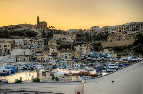 Mgarr Harbour #HDR