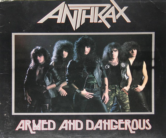 "Anthrax Armed and Dangerous 12"" Vinyl LP"