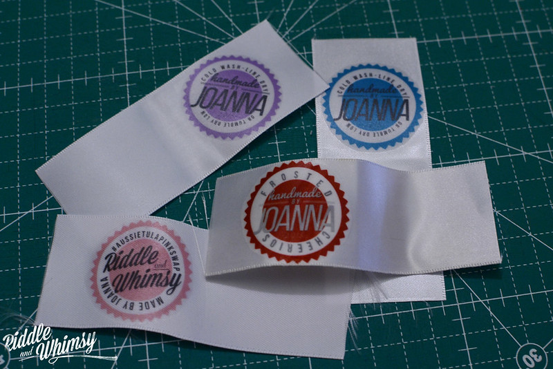 Riddle and {Whimsy}  Make your own label tut 2
