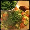Cucina Dello Zio #homemade #Minestrone Soup #CucinaDelloZio - green beans