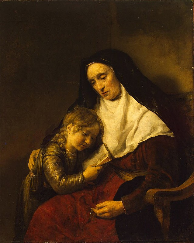 Willem Drost - Timothy and Lois (c.1650)