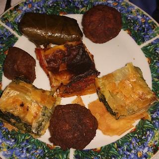 #antipatogreco #cucinagreca #cenagreca #cena