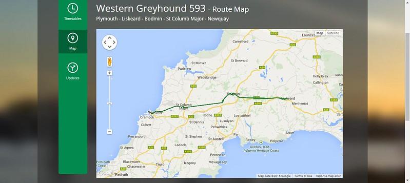 Western GreyhoundMAPS