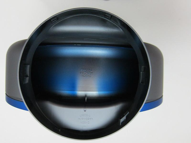 Dyson AM06 Desk Fan 25cm (Iron & Blue) - Loop Amplifier Bottom