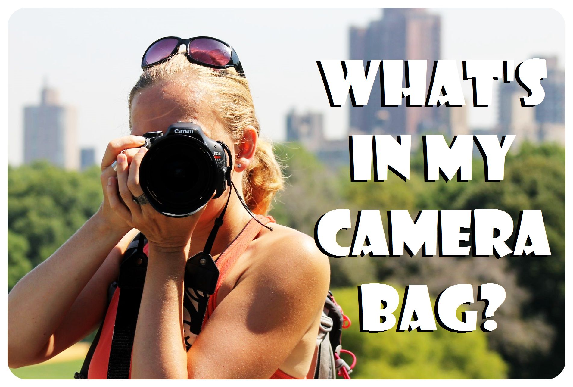 camera gear for traveling