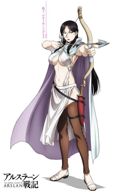 150223 -「坂本真綾」飾演忠貞美艷女神官+精靈使、奇幻3DCG動畫《亞爾斯蘭戰記》公布第2批聲優!