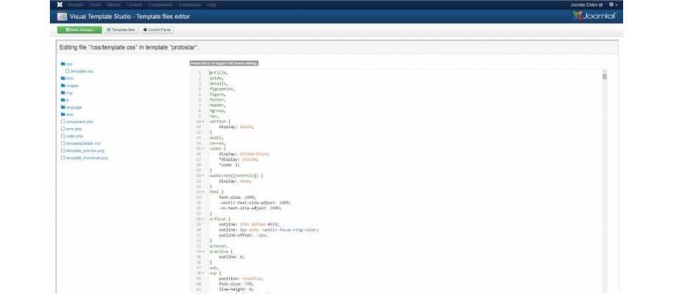 Visual Template Studio