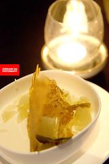 Kaffir Lime-Lemongrass Panna Cotta