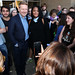 LMU School of Film & Television posted a photo:	LMU students take photos with Branagh in between questions. | Photo by Juan Tallo
