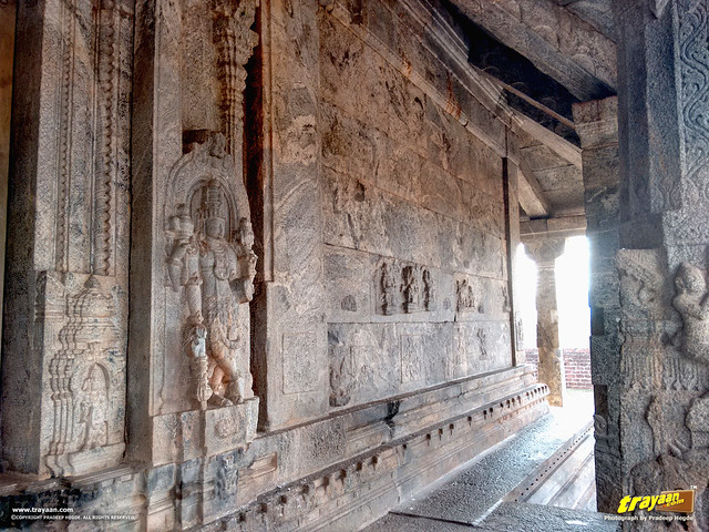 Bas-Relief sculptures on the Chaturmukha Basadi in Karkala, the Tribhuvana Tilaka Jina Chaityalaya or Ratnatraya dhama, in Karkala, Udupi district, Karnataka, India