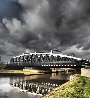Frodsham swing bridge