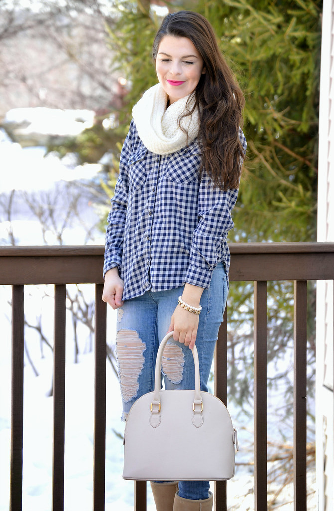 plaid and jeans 4