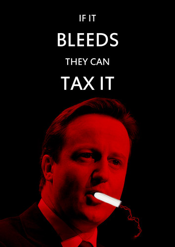 If it bleeds they can tax it