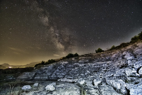 sky night nightview nightscape skyscape astrophotography wideangle ogps1 astrotracer pentaxks2 tamron theater classic ancient peloponnese peloponnisos akrata heritage history greece