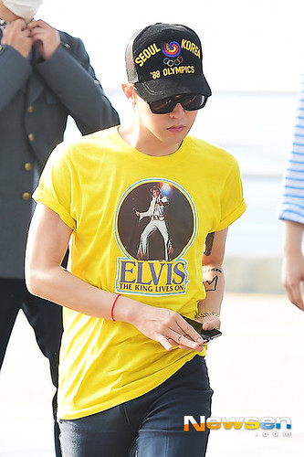 Big Bang - Incheon Airport - 07aug2015 - Newsen - 10