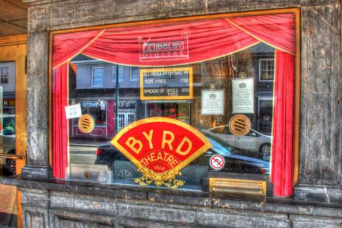 Byrd Theater Ticket Window-Carytown-Richmond VA 03360