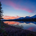 Sunset Near Cantwell, Alaska by Mike Beauchamp
