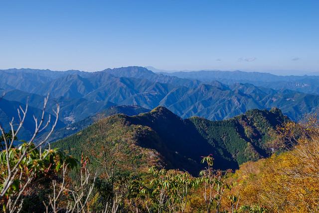 三峯神社、妙法ヶ峰、両神山@霧藻ヶ峰