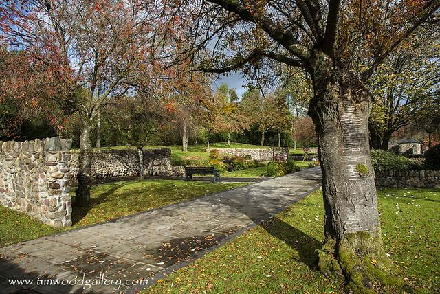 ABERFAN MEMORIAL GARDEN, SOUTH WALES.