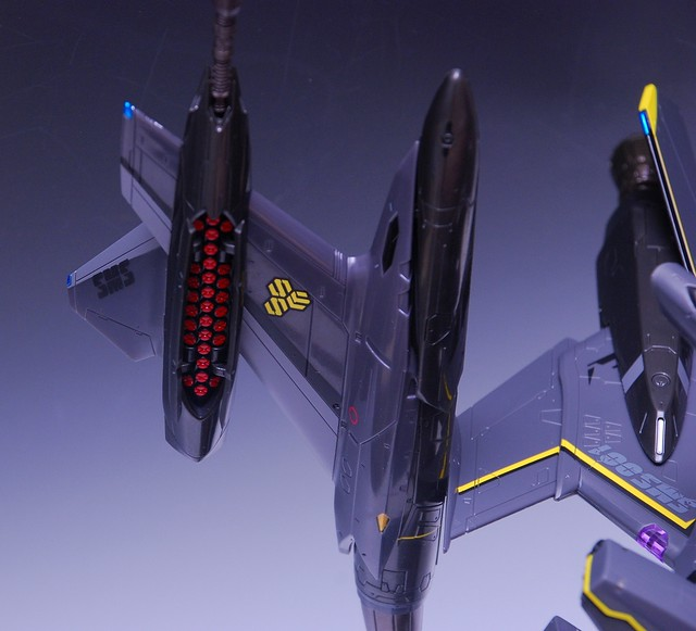 【玩具人'杜少' 投稿】DX超合金—超時空要塞 YF-29 奧茲瑪機 超級背包