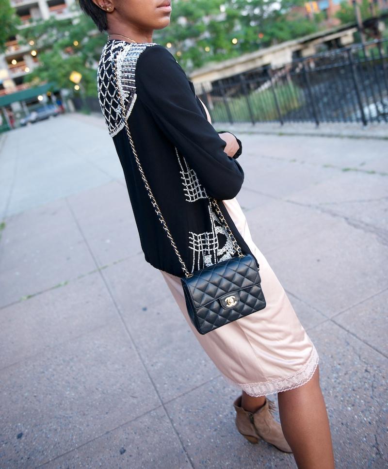 Chanel square mini flap bag