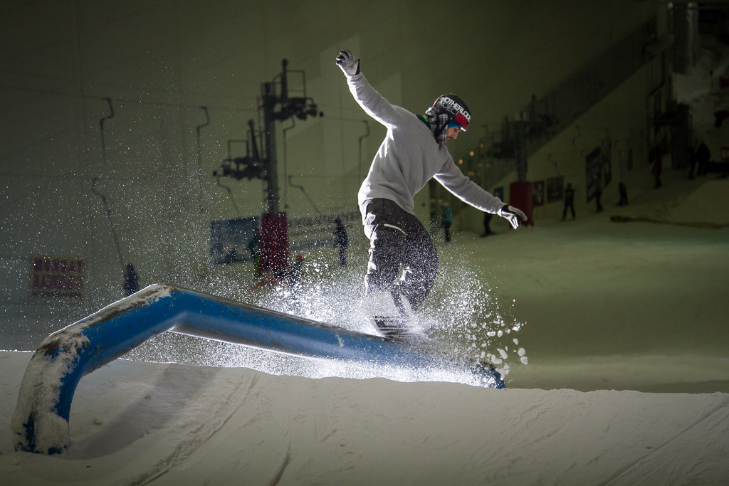 angus malloch snowboarding rail braehead glasgow