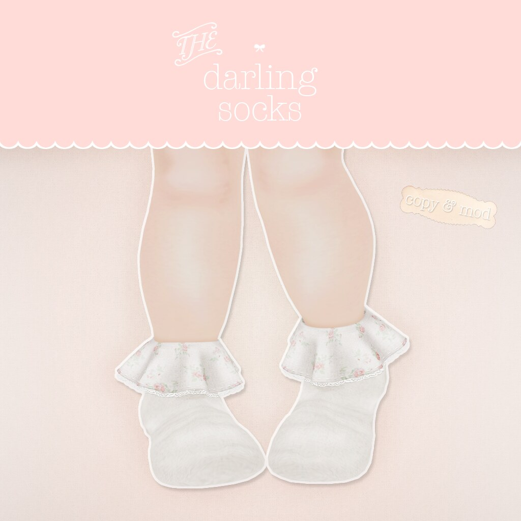 Darling Socks - SecondLifeHub.com