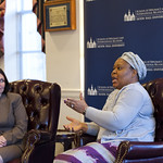 15660442797 2014 World Leaders Forum: Leymah Gbowee