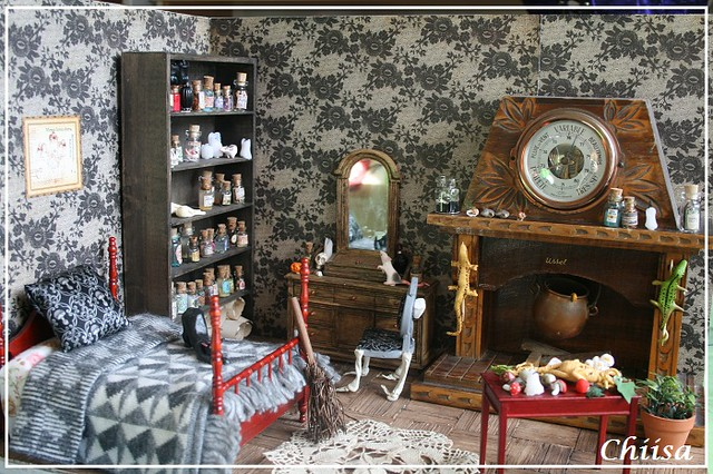 [Vds]Dioramas, mobiliers, rements ... Remise Ldoll possible 15675350412_ca04c9ef1a_z