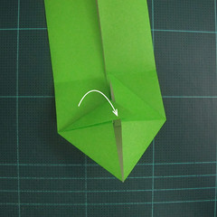 การพับกระดาษเป็นรูปแรด (Origami Rhino) 008
