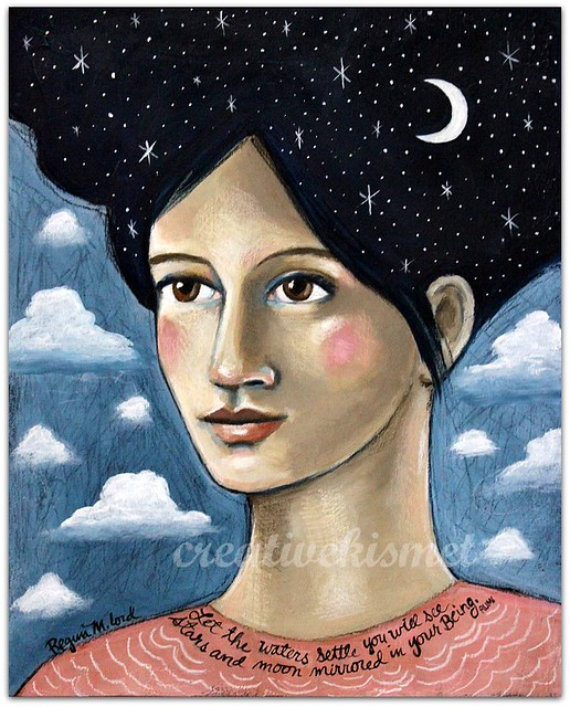 The Astronomer - art by Regina Lord