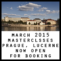 Mar 2015 Masterclasses: Prague, Lucerne