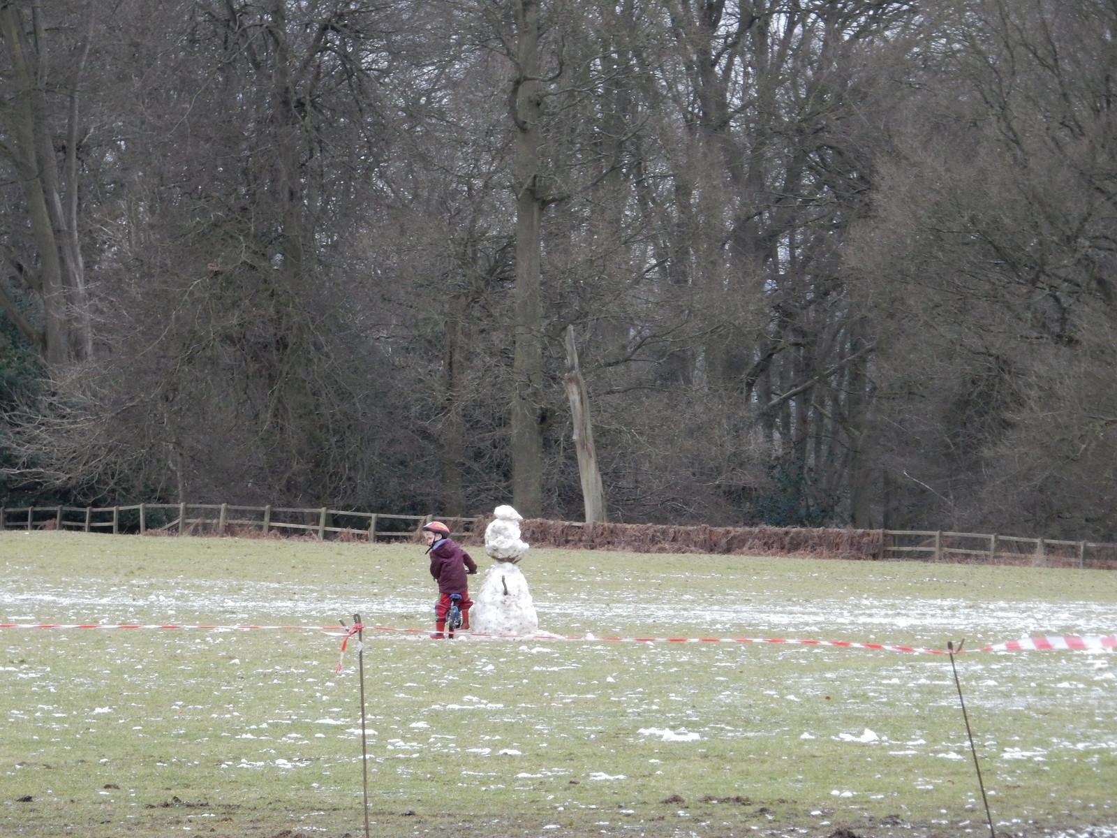 Vestigial snowman Tring Circular