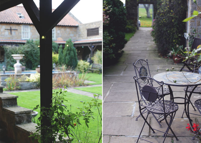 gardens at ox pasture hall hotel