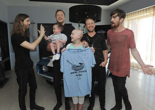 Imagine Dragons and Hard Rock Partner to Benefit the Tyler Robinson Foundation with Signature Series: Edition 33 Merchandise Launch