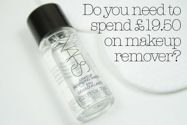 Do you need to spend £19.50 on makeup remover?