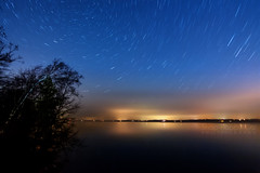 Star Trails and Light Pollution