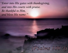 Psalms 100:4 nkjv