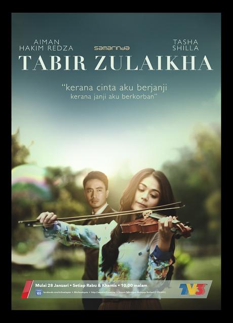 Poster Tabir Zulaikha