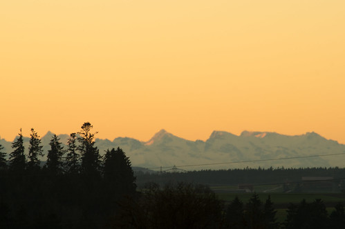 morning sunset mountains alps nature landscape early