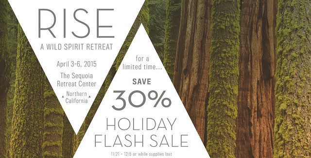 RISE - Women's Yoga and Cooking Retreat - Holiday Flash Sale