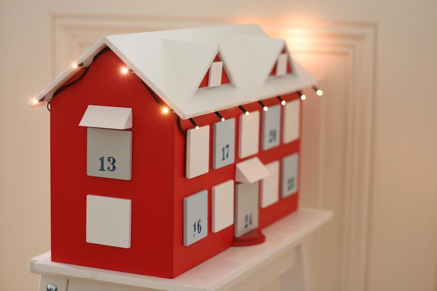 diy holz adventskalender haus zeroutine beauty und. Black Bedroom Furniture Sets. Home Design Ideas