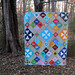 Improv Angles charity quilt by StitchedInColor