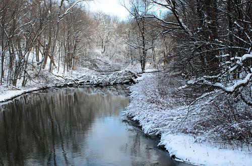 winter usa creek landscape nikon3570mmf28d rensselaercountyny dajewski redmillcreek gdajewski