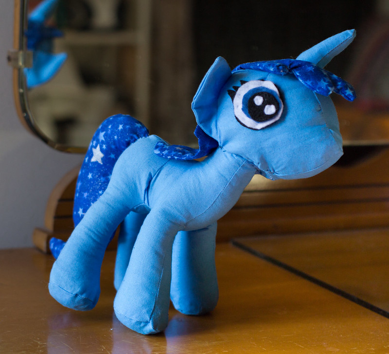Custom my little pony for V