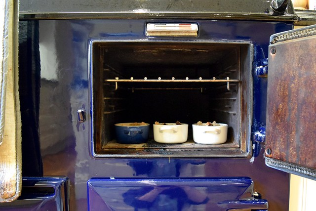 Baking Single Serve Bread & Butter Puddings in an AGA