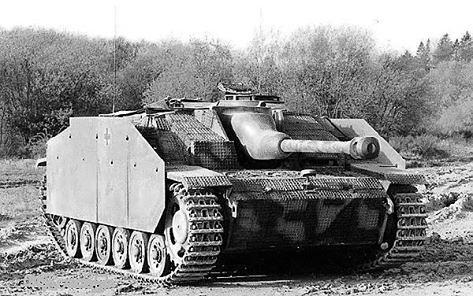 StuG III with waffle pattern Zimmerit.