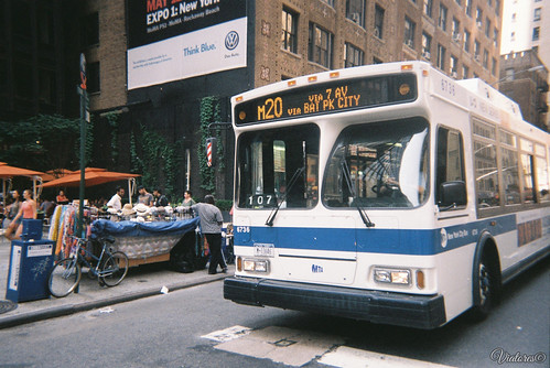 New York Bus. New York. USA