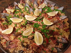 meal, paella, food, dish, cuisine,